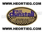 Paul Dunstall Kawasaki Tank and Fairing Transfer Decal DDUN7-6